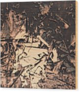 The Human Condition Wood Print