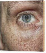The Human Eye Wood Print