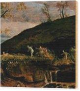 The Hunt Of Diana 1896 Wood Print