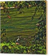 The Hunter II Wood Print