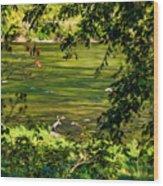 The Hunter - Paint Wood Print