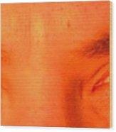 The I In Eye Wood Print
