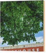 The Icehouse - Bentonville Market District Wood Print