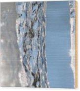 The Iceman Screameth Wood Print