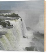 The Iguassu Channel Wood Print