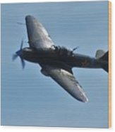 The Ilyushin Il-2 In Flight Wood Print
