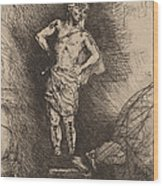 The Image Seen By Nebuchadnezzar Wood Print