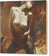 The Incinerating Passion Wood Print