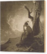 The Indian Widow Wood Print