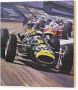 The Indianapolis 500 Wood Print