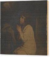 The Infant Samuel Wood Print