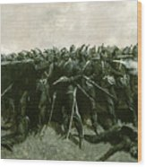 The Infantry Square Wood Print