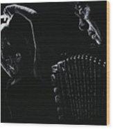 The Intensity Of Flamenco Wood Print