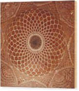 The Intricate Inlay And Carving Wood Print