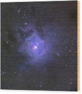 The Iris Nebula Wood Print
