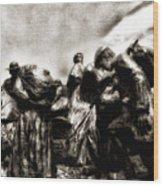The Irish Exodus Wood Print