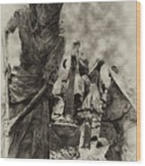 The Irish Famine Wood Print