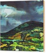 The Irish Hills Wood Print