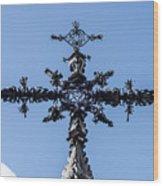 The Iron Cross Of Santa Cruz Wood Print