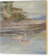 The Island Cove Wood Print
