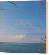 The Island Of God #5 Wood Print