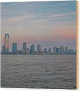 The Island Of Manhattan Wood Print