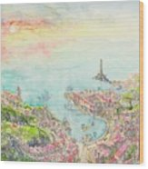 The Island Of Milonga Wood Print