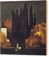 The Isle Of The Dead 1880 Wood Print