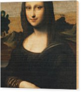 The Isleworth Mona Lisa Wood Print