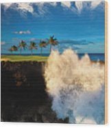 The Jack Nicklaus Signature Hualalai Golf Course Wood Print