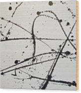 The Jagged Edge Wood Print