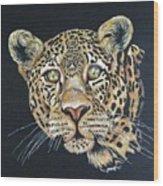 The Jaguar - Acrylic Painting Wood Print