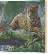 The Jaguar Wood Print