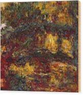 The Japanese Footbridge - Giverny Wood Print