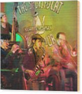 The Jazz Vipers In New Orleans 02 Wood Print