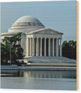 The Jefferson Memorial 2 Wood Print