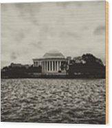 The Jefferson Memorial Wood Print