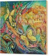 The Jerusalem Key Wood Print