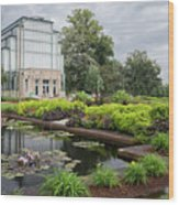 The Jewel Box At Forest Park Wood Print