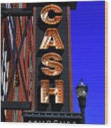 The Johnny Cash Museum - Nashville Wood Print