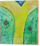 The Journey #56 I'm Walking On Sunshine Wood Print