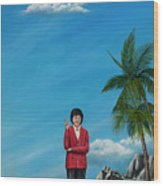 The Journey Of A Dog Trainer Wood Print