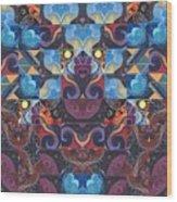 The Joy Of Design Mandala Series Puzzle 6 Arrangement 8 Wood Print