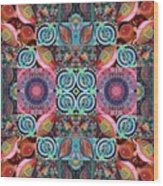The Joy Of Design Mandala Series Puzzle 7 Arrangement 1 Wood Print