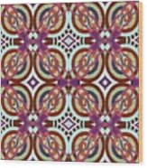 The Joy Of Design X L I Arrangement 3 Inverted Wood Print