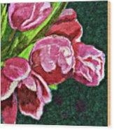 The Joy Of Spring Wood Print