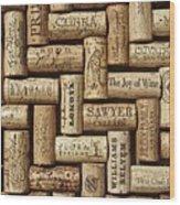 The Joy Of Wines Wood Print