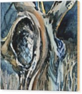 The Judas Tree Wood Print