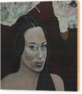 The Judgment Of Casey Anthony The Sacrifice Of Caylee Anthony Wood Print by Angelo Thomas