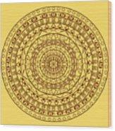 The Jungle Mandala Wood Print